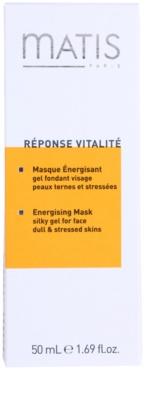 MATIS Paris Réponse Vitalité Gelmaske für müde Haut 3