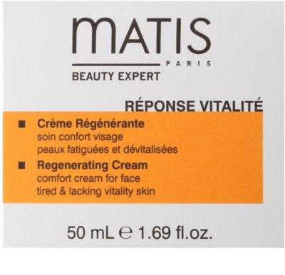 MATIS Paris Réponse Vitalité Regenerierende Tagescreme für müde Haut 2
