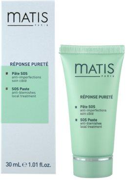 MATIS Paris Réponse Pureté Mandarinenpaste für fettige Haut 1