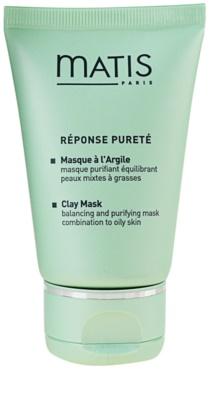 MATIS Paris Réponse Pureté máscara de limpeza para pele oleosa