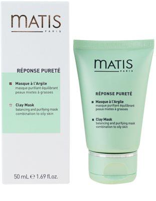 MATIS Paris Réponse Pureté tisztító maszk zsíros bőrre 1