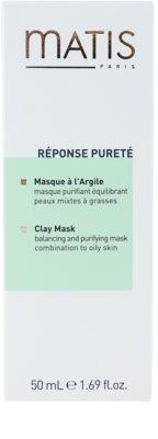 MATIS Paris Réponse Pureté tisztító maszk zsíros bőrre 2