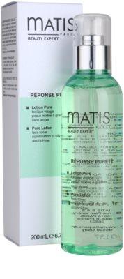 MATIS Paris Réponse Pureté tónico limpiador para pieles mixtas y grasas 2