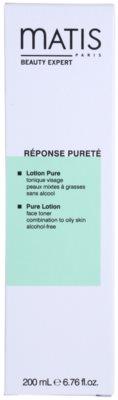 MATIS Paris Réponse Pureté tónico limpiador para pieles mixtas y grasas 4