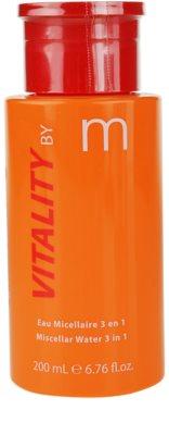 MATIS Paris Vitality by M tónico limpiador desmaquillante 3 en 1