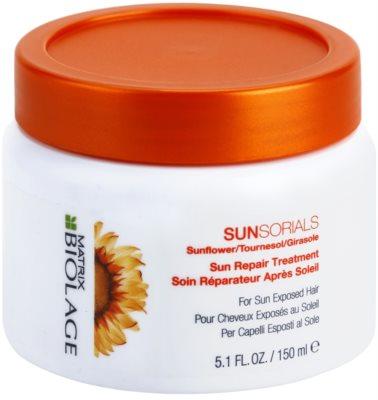 Matrix Biolage Sunsorials mascarilla para cabello maltratado por el sol