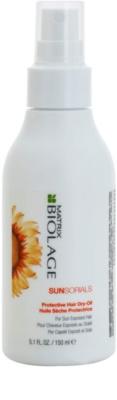 Matrix Biolage Sunsorials suchy olejek do włosów narażonych na szkodliwe działanie promieni słonecznych