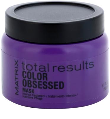 Matrix Total Results Color Obsessed maseczka  do włosów farbowanych