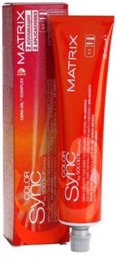Matrix Sync tinte de pelo sin amoníaco