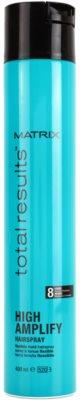 Matrix Total Results High Amplify laca de cabelo para fixação flexível