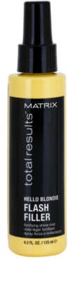 Matrix Total Results Hello Blondie spray care nu necesita clatire pentru par blond