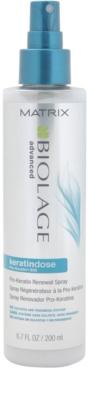 Matrix Biolage Advanced Keratindose erneuerndes Spray für empfindliche Haare 1