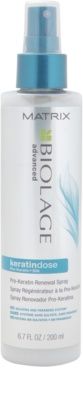 Matrix Biolage Advanced Keratindose spray reparador para cabello sensible