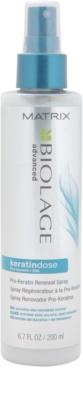 Matrix Biolage Advanced Keratindose spray rewitalizujący do wrażliwych włosów