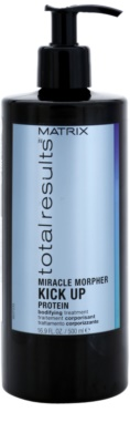 Matrix Total Results Miracle Morpher Kick up Cuidado proteico para cabelo fino e danificado