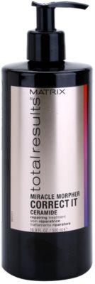 Matrix Total Results Miracle Morpher Correct it Ceramid-Pflege für beschädigtes, chemisch behandeltes Haar