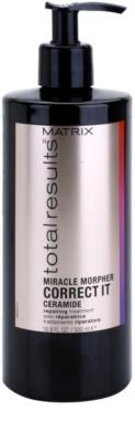 Matrix Total Results Miracle Morpher Correct it Cuidado ceramide para cabelos danificados e quimicamente tratados