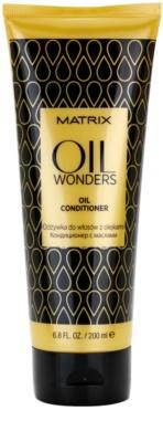 Matrix Oil Wonders balsam hranitor cu ulei de argan