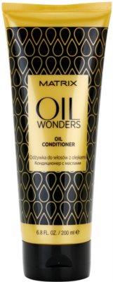 Matrix Oil Wonders tápláló kondícionáló argánolajjal