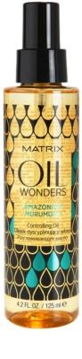 Matrix Oil Wonders aceite nutritivo para dar brillo al cabello ondulado y rizado