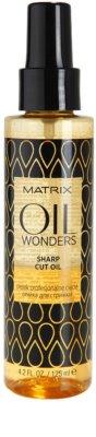 Matrix Oil Wonders aceite nutritivo para un corte de pelo perfecto