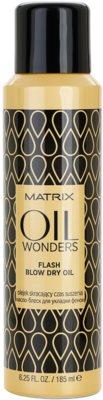Matrix Oil Wonders olej ve spreji pro rychlejší foukanou