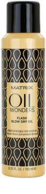 Matrix Oil Wonders spray de ulei pentru o uscare rapida