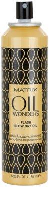 Matrix Oil Wonders olej ve spreji pro rychlejší foukanou 1
