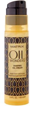 Matrix Oil Wonders formázó olajos krém 1