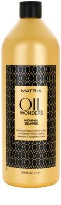 Matrix Oil Wonders Mikro-Öl Shampoo für glänzendes und geschmeidiges Haar