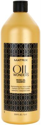 Matrix Oil Wonders мікро-маслянистий шампунь для блиску та шовковистості волосся