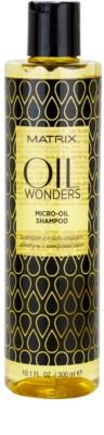 Matrix Oil Wonders mikro-olejový šampón na lesk a hebkosť vlasov