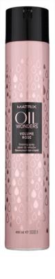 Matrix Oil Wonders Volume Rose fixativ pentru volum