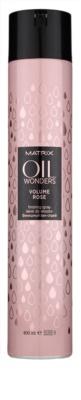 Matrix Oil Wonders Volume Rose laca de cabelo para dar volume