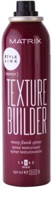 Matrix Style Link Perfect Haarspray für einen zerzausten Look 1