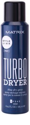 Matrix Style Link Prep spray paral cabello  para un secado rápido