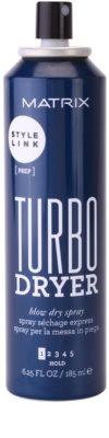 Matrix Style Link Prep spray do włosów przyspieszający suszenie 1