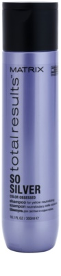 Matrix Total Results So Silver champú protector del color para cabello rubio