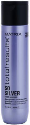 Matrix Total Results So Silver sampon a festett szőke haj védelmére