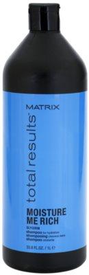 Matrix Total Results Moisture Me Rich champô hidratante  com glicerol