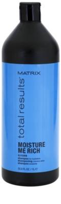 Matrix Total Results Moisture Me Rich hydratační šampon s glycerinem