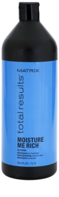 Matrix Total Results Moisture Me Rich hydratisierendes Shampoo mit Glycerin