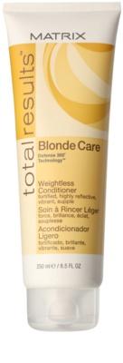 Matrix Total Results Blonde Care balsam pentru par blond