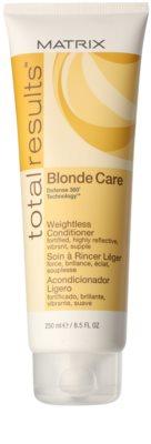 Matrix Total Results Blonde Care kondicionér pro blond vlasy