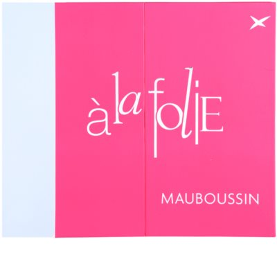 Mauboussin A la Folie coffret presente 6