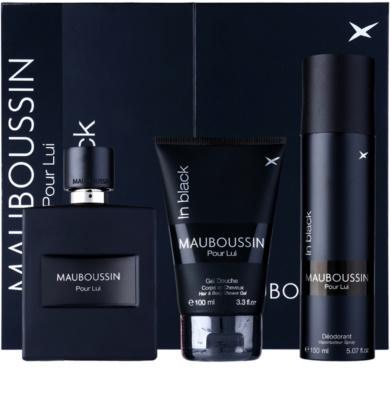 Mauboussin Mauboussin Pour Lui in Black Geschenkset