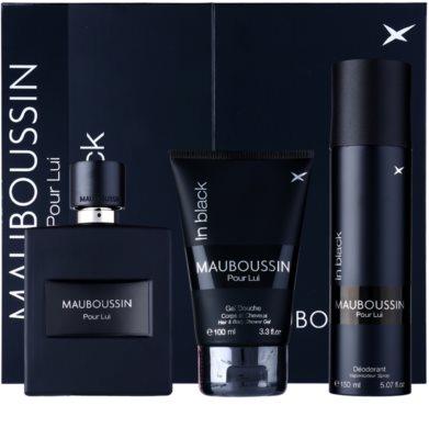 Mauboussin Mauboussin Pour Lui in Black подаръчен комплект