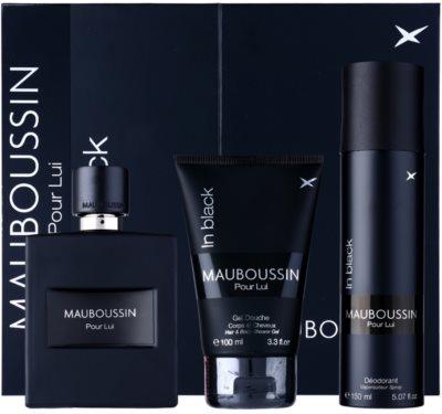 Mauboussin Mauboussin Pour Lui in Black zestaw upominkowy