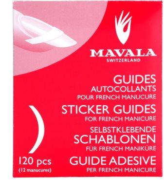 Mavala Accesories Schablonen für die französische Maniküre