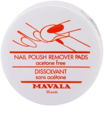 Mavala Accesories Pads zur Nagellackentfernung ohne Aceton